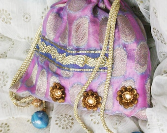 SALE Dhumal /// an Evening bag by Jhumki Couture - designs by raindrops