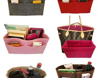Handbag Organizer/Tascheneinsatz-Passend/Innentasche/Taschenorganizer/Shaper/Diaper Handbag fits Louis vuitton Neverfull GM,MM, Speedy 35