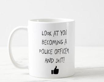 Police Officer Mug, Future Policeman, New Police Officer, Future Policeman, New Policeman, Police Officer Gift, Police Academy Mug