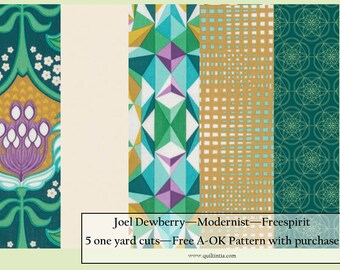 Joel Dewberry - Modernist - Five Yard Fabric Bundle
