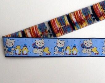 G5 braid - Stripe bears and penguins