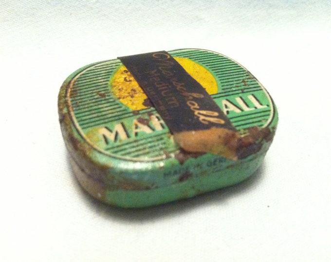 Vintage tin can marshall gramophone Germany