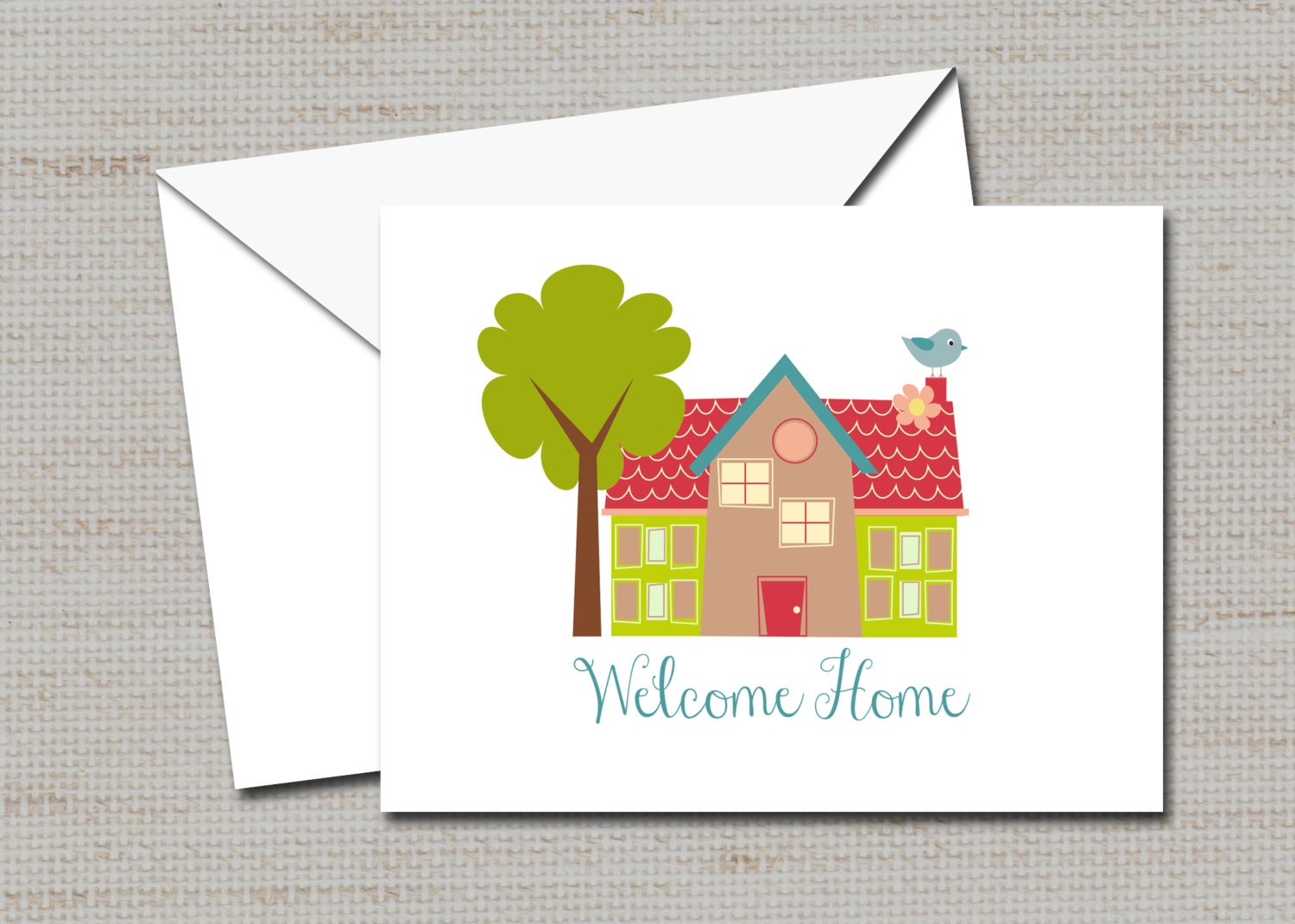 Personalized notecards realtor thank you notes moving cards zoom kristyandbryce Image collections
