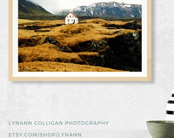 Fine Art Photography, Iceland Landscape Photography Print, Large Wall Art Print, Minimalist Art, Wall Decor, Landscape Print, Coastal Art