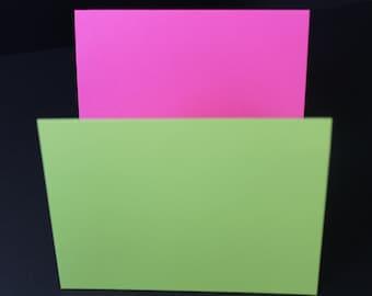 A7 Folded Metallic Cards 25/set | Heavyweight Blank Folded Card stock | Blank Folded Cards | 25/pk