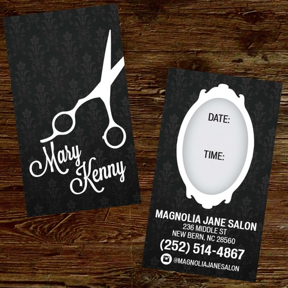 Custom hair stylist business cards professionally printed reheart Images