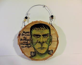 Frankenstein Halloween Decor