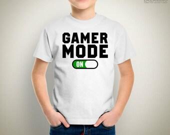 KIDS - Gamer mode ON T-Shirt/Onesie Games Gaming Video Games PC