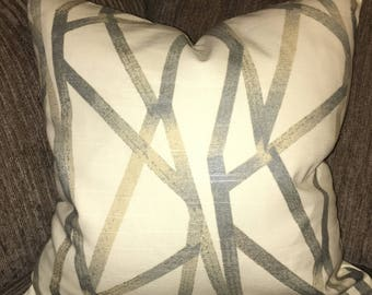 Modern, Contemporary, Geometric Accent Pillow Cover