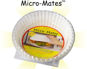 Micro-Mates™ 40-Count Microwave FoodCovers No Cancer Agents FDA OK