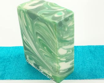Irish Spring Soap For Him Man Soap Dad Gift For Him Handmade Soap For Men Fathers Day Gift For Dad Gift For Husband Homemade Soap IRISH MIST