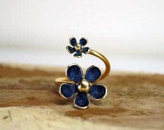 Adjustable ring , Open ring, Daisy ring, Flower ring, Daisy flower ring, Daisy, Daisy jewelry, Flower jewelry, Adjustable jewelry, Ring