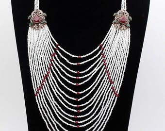 Sale Indian vintage Terkish new jewelry multi color necklace