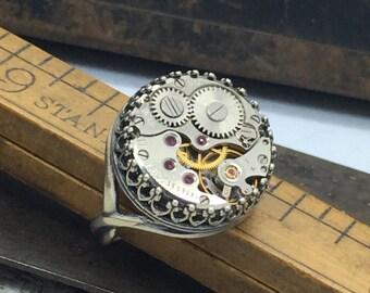 Jane, Silver Filigree Ring