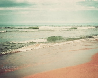 Sea Breeze - beach photo, fine art, ocean photography, aqua, turquoise, nautical decor, beach print