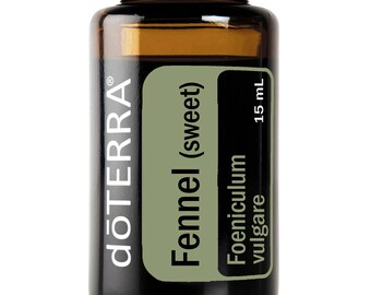 Doterra Fennel Essential Oil 15mL bottle
