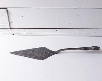 Silver plated Italian Cake Server   Italy utensils
