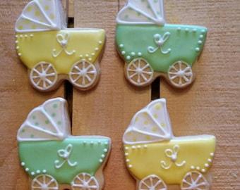Baby Stroller Cookies