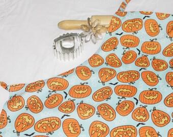 Halloween Jack o' Lantern Adult Apron