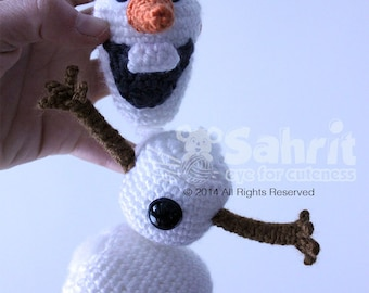 Amigurumi Olaf Tutorial : Olaf the snowman etsy