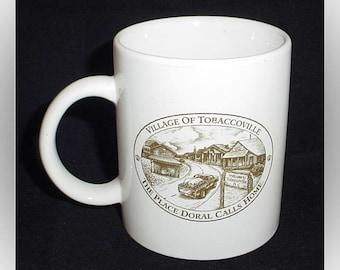 Doral Tobaccoville 1990s Coffee Mug