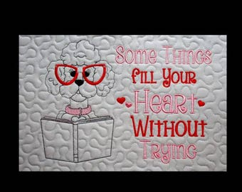 In Hoop Fill Your Heart Pillow Palz