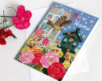 New Home - New Home Card - Housewarming Card - First Home Card - Moving Card - We Have Moved Card