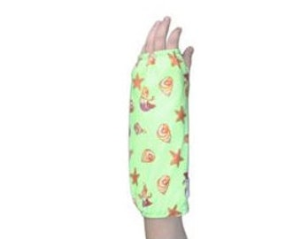 Fashionable Arm Cast Cover in Green Mermaid for Short Arm Cast
