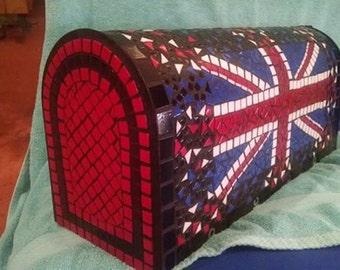 Union Jack Flag mailbox