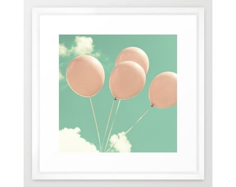 Nursery wall art, nursery decor, nursery prints, balloons nursery, nursery art,nursery wall decor,boy nursery decor boy,pastel nursery
