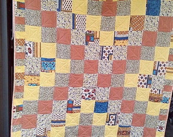 Bedspread, quilt, patchwork 160x200 early autumn