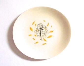 Vintage Johnson Plate Autumn Tree Plate