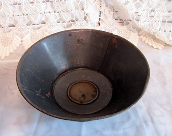 Antique Metal Sieve Strainer
