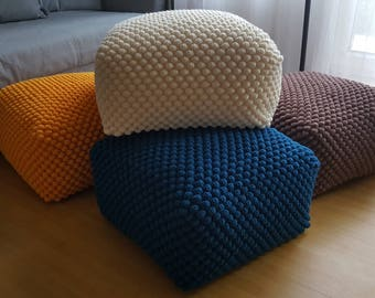 round couch poufs rug ottomans ottoman pali furniture tufted anji large surya hayneedle cream chair sizes and with stool white pouf stools jute for small floor