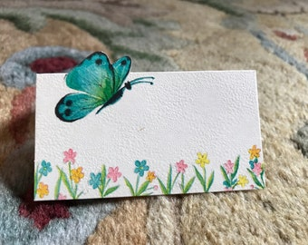 Butterfly Place Card