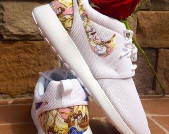 Beauty and the Beast custom Nike Roshe