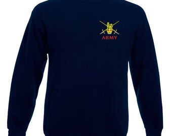 Army crossed swords sweatshirts