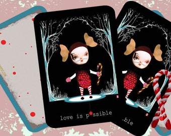 Love Is Possible 'Winter Holiday Postcard'