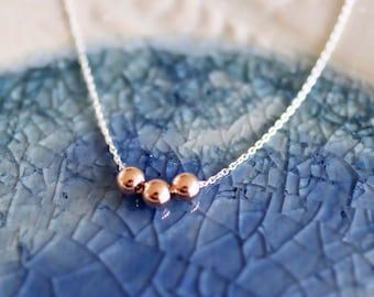 Add A Bead Necklace - Add A Bead Jewelry - Mix and Match Necklace  - Delicate Necklace - Dainty Necklace - Dainty Chain - Mom Gift