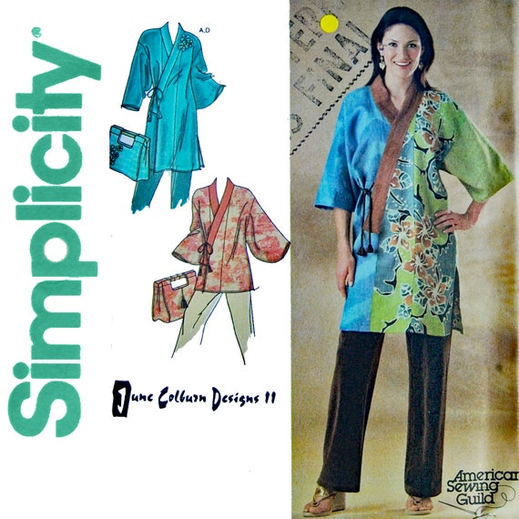 Womans Kimono Jacket Sewing Pattern by June Colburn Designs ...