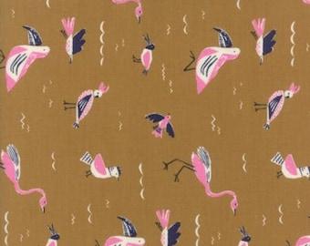 Fabric by the Yard- Yucatan Earthenware Seabirds