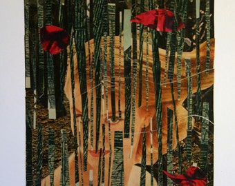 Mysterious West.....A Collage by Nanette Gilligan