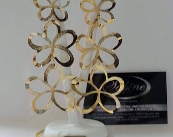 Gold Flowers Earrings