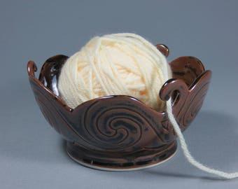Celtic Spirals Yarn Bowl