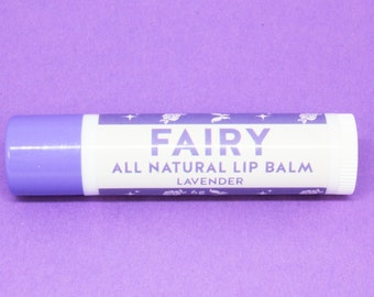 Fairy All Natural Lip Balm - Lavender Flavour