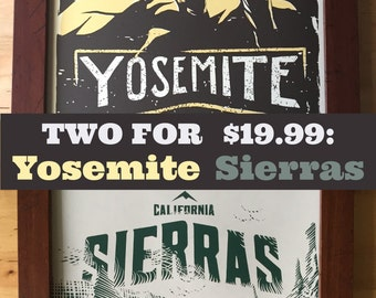 Outdoor Adventure Pack Yosemite and Sierras Two For
