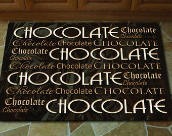 Chocolate Kitchen Mat