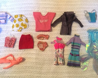 Barbie Doll clothes (various) used