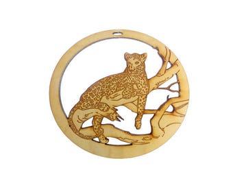 Leopard Ornament - Leopard Christmas Ornament - Leopard Gifts - Leopard Ornaments - Christmas Leopard - Personalized Free