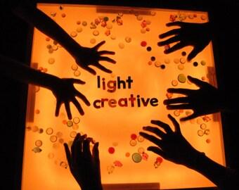Wood Light Table - Reggio/Montessori